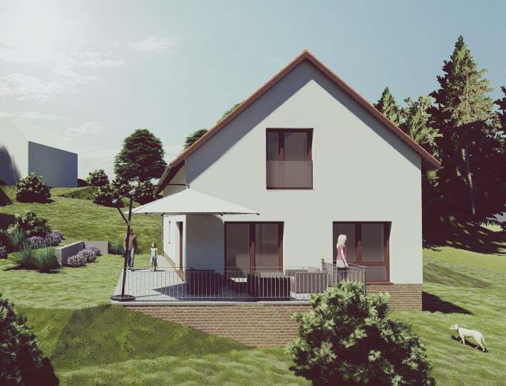 Családi ház tervezése Pécs